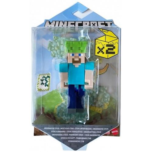 "Minecraft 3.25"" Figures - Underwater Steve"