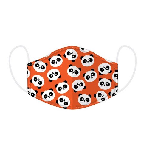 Re-usable Face Cover - Small - Panda