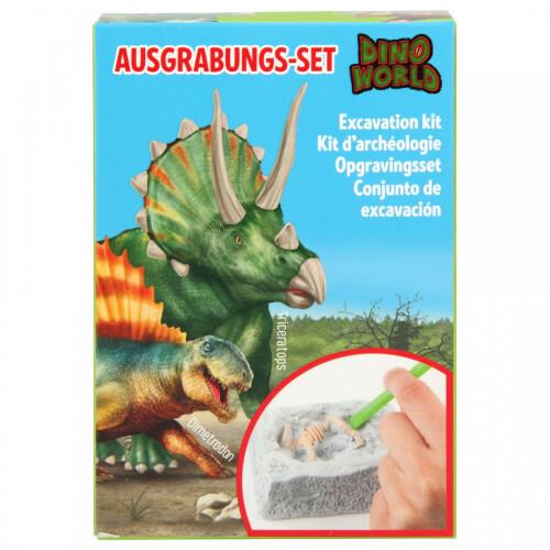 Dino World Excavation Kit - Triceratops or Dimetrodon