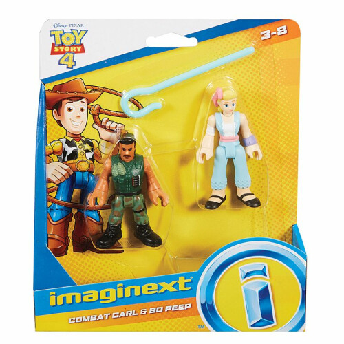 Imaginext Toy Story - Combat Carl & Bo Peep
