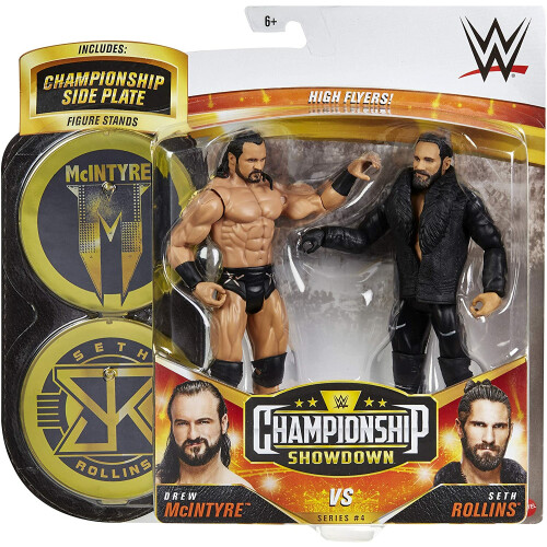WWE Action Figure - Championship Showdown - Drew McIntyre Vs Seth Rollins