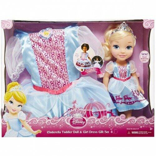 Disney Princess - Cinderella Toddler Doll & Dress Gift Set