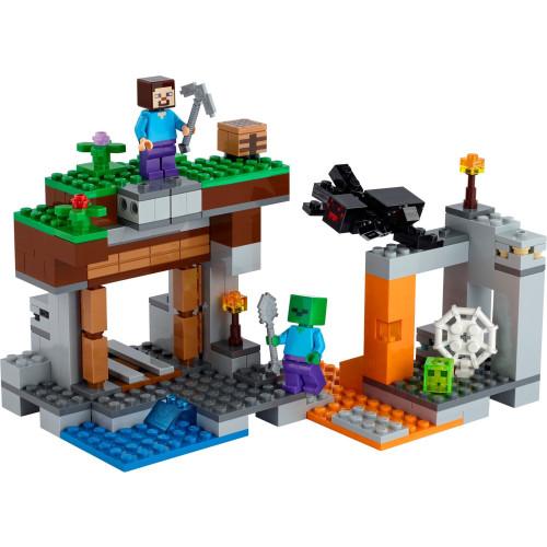 """Lego 21166 Minecraft The """"Abandoned"""" Mine"""