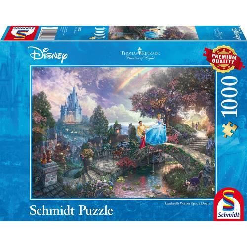 Thomas Kinkade Disney Cinderella 1000pc Jigsaw Puzzle