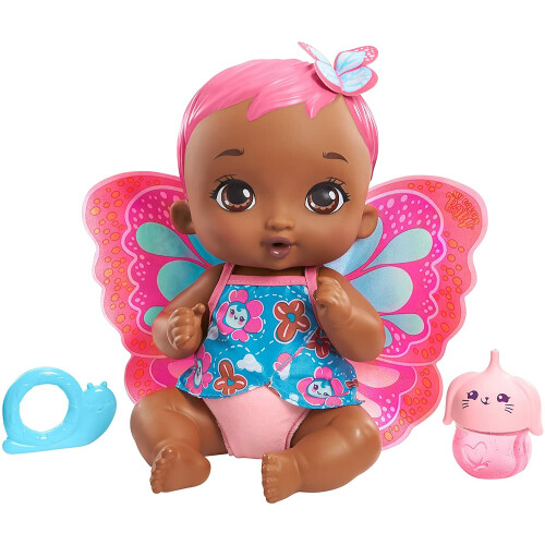 My Garden Baby Feed & Change Baby Butterfly - Pink