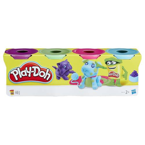 Play-Doh 4 Tub Pack B6510