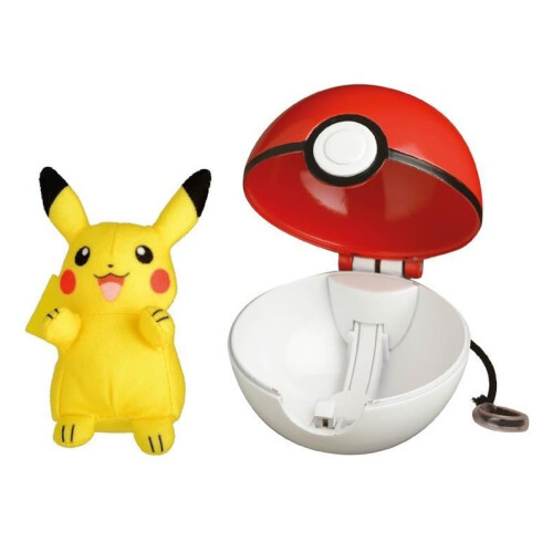 Pokemon Pop Action Poke Ball - Pikachu