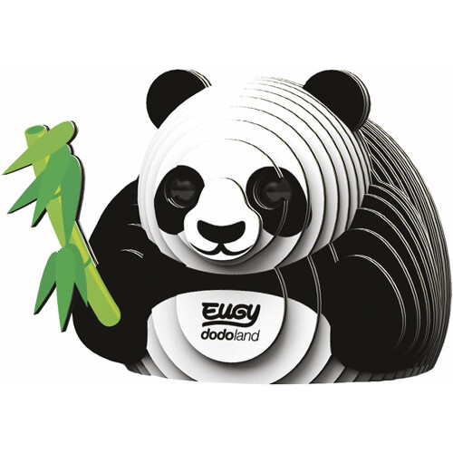 Eugy - 3D Model Craft Kit - Panda