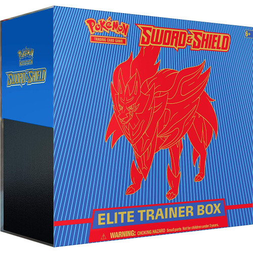 Pokemon TCG Sword & Shield Elite Trainer Box