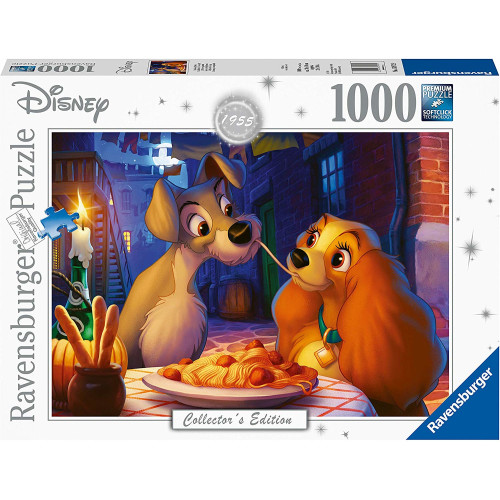 Ravensburger 1000pc Disney Collector's Edition Jigsaw Puzzle Lady and the Tramp