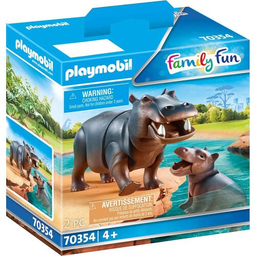 Playmobil 70354 Family Fun Hippo with Calf