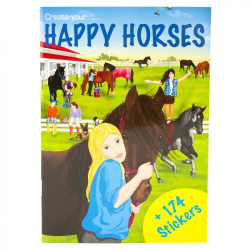 Depesche Create Your Mini Stickerworld - Happy Horses