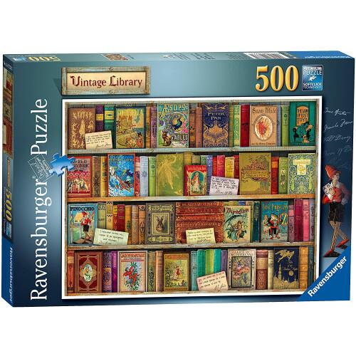 Ravensburger 500pc Puzzle Vintage Library
