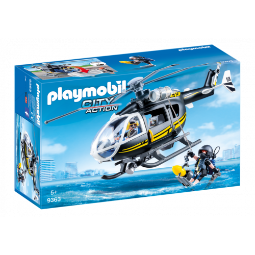 Playmobil City Action 9363 SWAT Helicopter