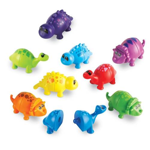 Learning Resources Snap-n-Learn Matching Dinos