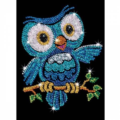 Sequin Art Ltd. Sequin Art Red Ozzy the Owl 1403