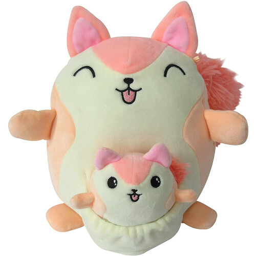 Squishmallows Mum & Baby - Reese the Squirrel