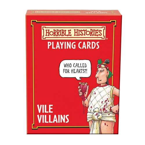 Horrible Histories Playing Cards - Vile Villains