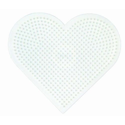 Hama Beads Single Pegboard 233 Large Heart