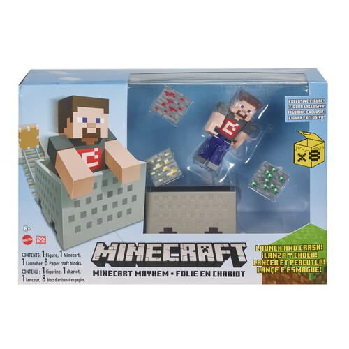 Minecraft Minecart Mayhem