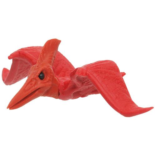 Iwako Puzzle Eraser - Dinosaur - Pteranodon (Red)