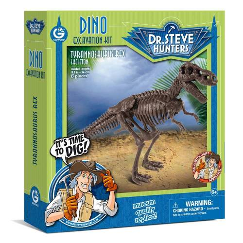 Dino Excavation Kit - Tyrannosaurus Rex Skeleton