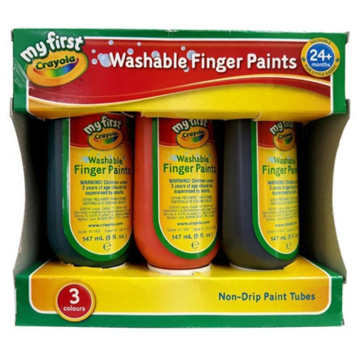 Crayola My First Washable Finger Paints
