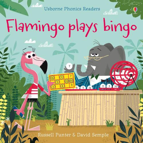 Usborne Books - Flamingo plays Bingo