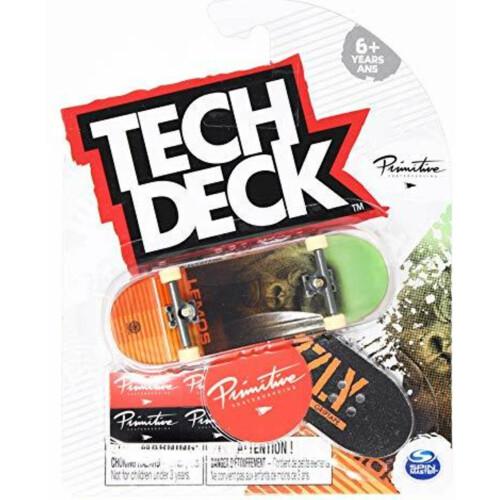 Tech Deck Primitive Skateboards Lemos Silverback 2021