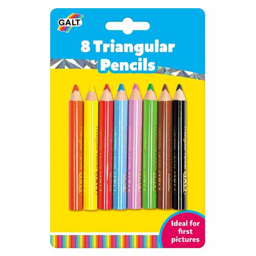 Galt Triangular Pencils - 8 Pieces