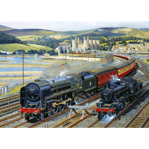 Gibsons Gateway to Snowdonia 1000pc Puzzle