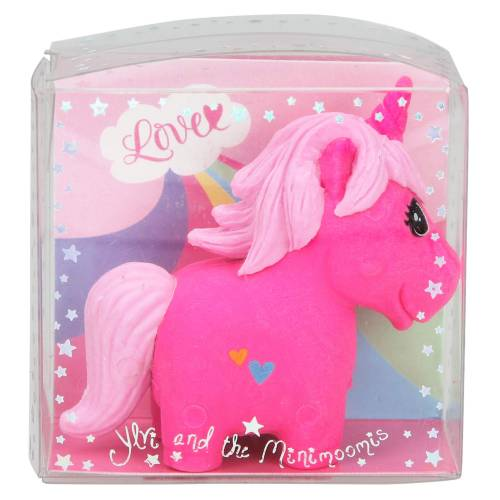 Depesche Ylvi & the Minimoomis Unicorn Eraser - Bright Pink