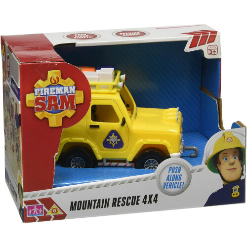 Fireman Sam Vehicle - Mountain Rescue 4x4