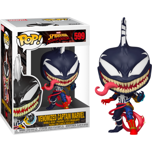 Funko Pop Vinyl - Spider-man Maximum Venom - Venomized Captain Marvel