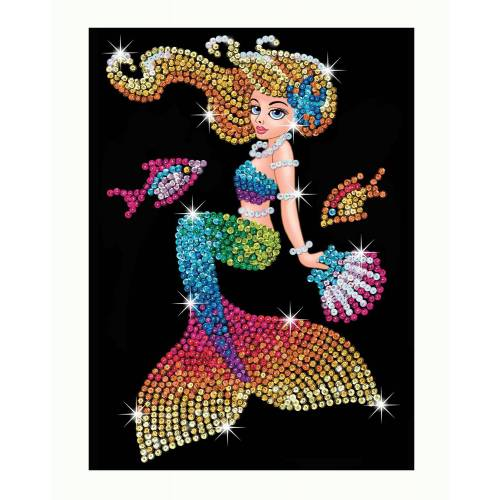 Sequin Art Limited. Sequin Art Red Mia the Mermaid 1803