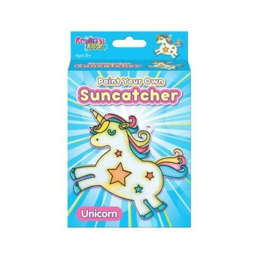 Kreative Kids - Paint Your Own Suncatcher - Unicorn