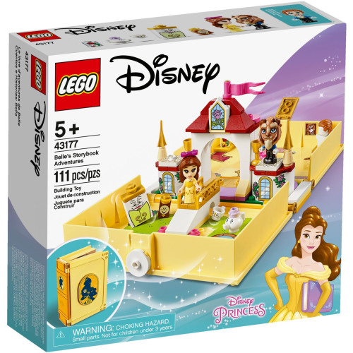 Lego 43177 Disney Princess Belle's Storybook Adventures