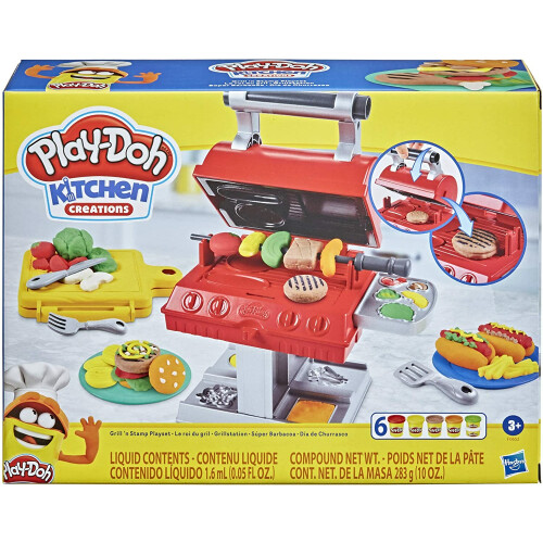 Play-Doh Grill'n Stamp Playset