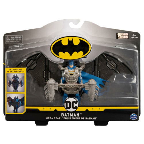 Batman 4 Inch Figure Series - Batman Mega Gear