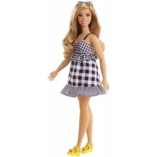 Barbie Fashionistas 96 Black and White Dress