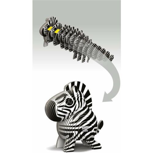 Eugy - 3D Model Craft Kit - Zebra