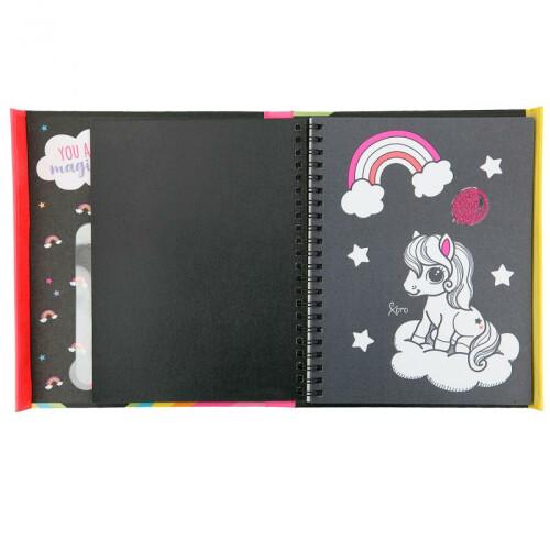 Depesche Ylvi & the Minimoomis Neon Colouring Book