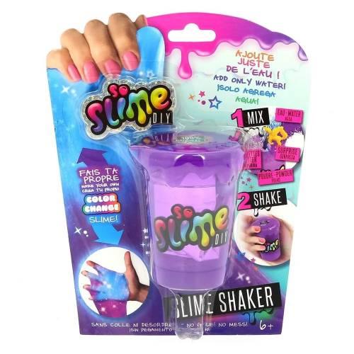So Slime DIY Slime Shakers Colour Change Slime - Purple Tub