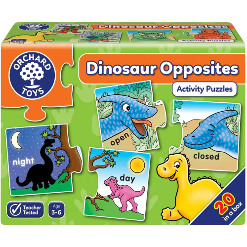 Orchard Dinosaur Opposites