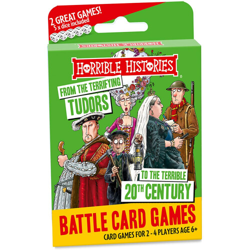 Horrible Histories Battle Card Games - Terrifying Tudors To The 20th Century