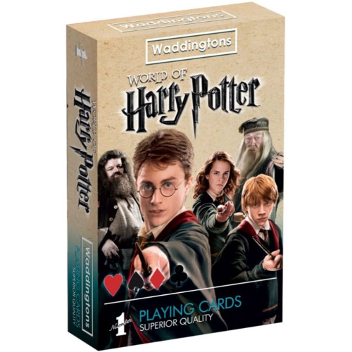 Waddingtons Playing Cards - World Of Harry Potter