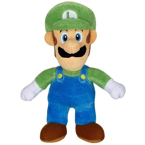 Super Mario 7.5 Inch Plush - Luigi