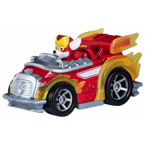 Paw Patrol True Metal Diecast Mighty Pups Super Paws - Marshall