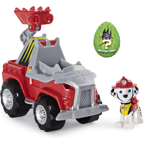 Paw Patrol Dino Rescue Deluxe Vehicle - Marshall