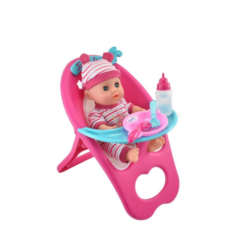 Baby Doll - High Chair Play Set